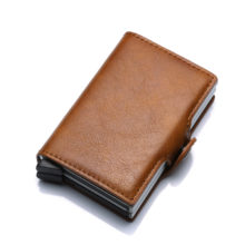 Men's Aluminium Leather Wallet