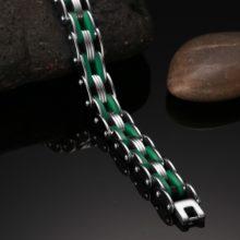 Men's Biker Style Bracelet