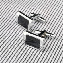 Men's Classic Rectangle Cufflinks