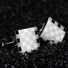 Men's Silver Cuff Links