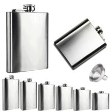 Convenient Universal Durable Stainless Steel Hip Flask
