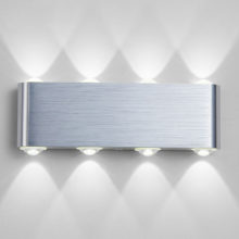 Creative White Aluminum LED Wall Lamps