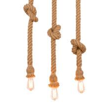 Vintage Rope Pendant Light