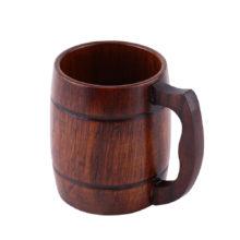 Cute Practical Eco-Friendly Wooden Beer Mug