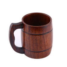 Cute Practical Eco-Friendly Wooden Beer Mug