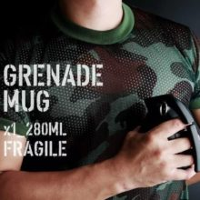 Creative Hand Grenade Shaped Ceramic Mug