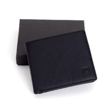 Men's Cow Leather RFID Blocking Wallet