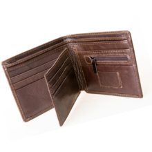 Men's Cow Leather RFID Blocking Wallet