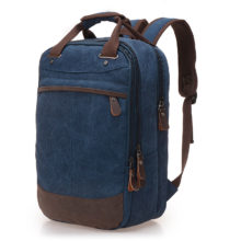 Men's Casual Canvas Backpack