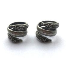 Nordic Snake Shaped Metal Men's Ring