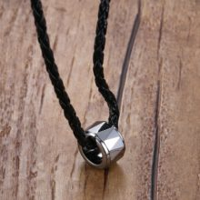 Fashion Minimalistic Metal Men's Pendant Necklace