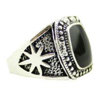 Fashion Vintage Metal Men's Signet Ring