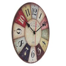 Wooden Vintage Wall Clock