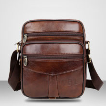 Cow Leather Crossbody Bag
