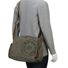 Men's Fashion Printed Crossbody Bag