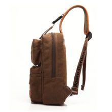 Men's Compact Canvas Shoulder Bag