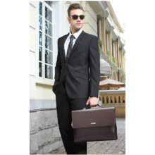 Men's Classic Office Style Briefcase and Wallet Set