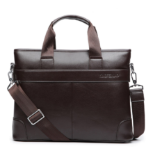 Men's Casual Leather Briefcase