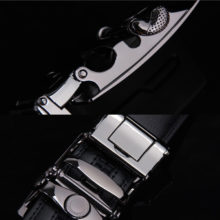 Men's Fashion Box Buckle Leather Belt