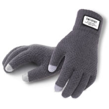 Men's Knitted Touchscreen Gloves