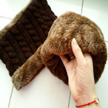 Knitted Warm Winter Hats for Men