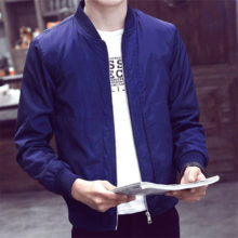 Casual Slim Bomber Jacket