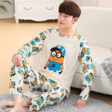 Thin Cotton Pajama Set for Men