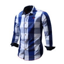 Men's Casual Plaid Patterned Shirts