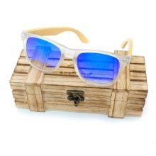 Unisex Wood Bamboo Sunglasses