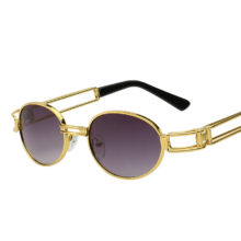 Vintage Men's Round Sunglasses