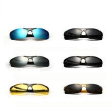 Men's Polarized and Coated Mirror Sunglasses