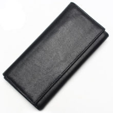 Men's Business Cowhide Leather Wallet