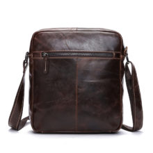 Stylish Leather Messenger Bag