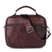 Fashion Cowhide Leather Travel Shoulder Bag