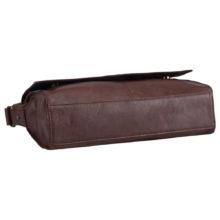 Fashion Solid PU Leather Messenger Bag