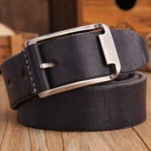 Men's Real Cowhide Belt