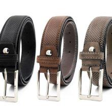 Luxury Classic Snake Style Leather Belt