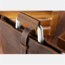Slick Genuine Leather Handbag for Men