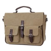 Men's Business Canvas Briefcase