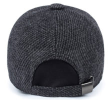 Knitted Design Casual Style Men's Baseball Cap