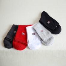 Spring Cotton Casual Men's Socks 5 Pairs Set
