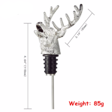 Stainless Steel Deer Head Shaped Wine Pourer