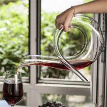 Handmade Crystal Glass Wine Decanter