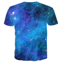 Space Galaxy Printed Party Men's T-Shirt