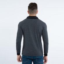 Trendy Long-Sleeved Cotton Men's Top