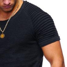 Hipster Solid Color Men's T-Shirt