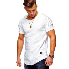 Hipster Solid Color Men's T-Shirt