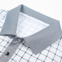 Men's Casual Plaid T-Shirt