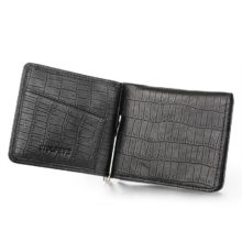 Relief Leather Money Clip