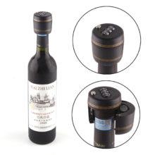 Wine Bottle Stopper with Lock